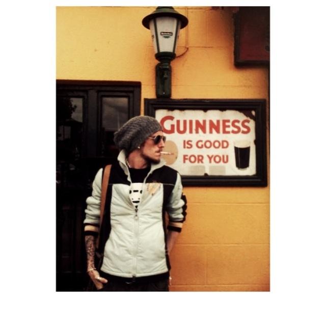 Piercing, is like Guinness