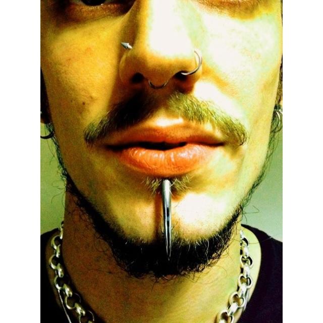 Captain's Self Pierced Septum
