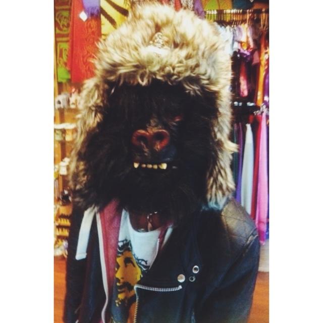 el capitan gorilla mask
