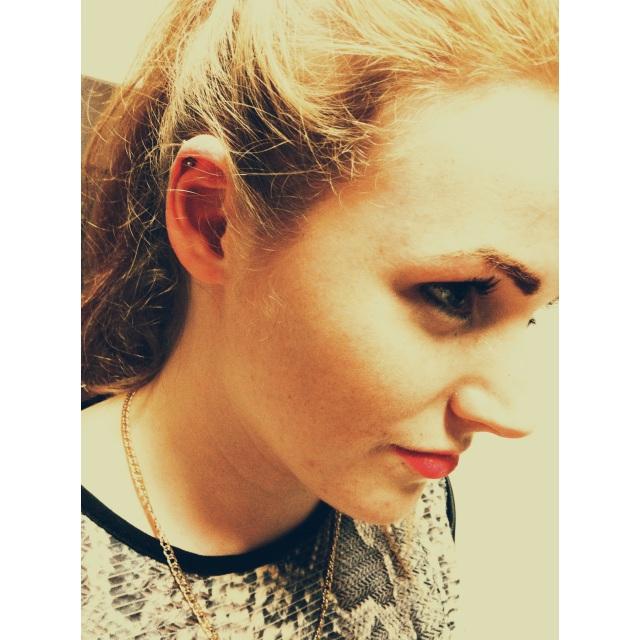 Simone's Cartilage Piercing