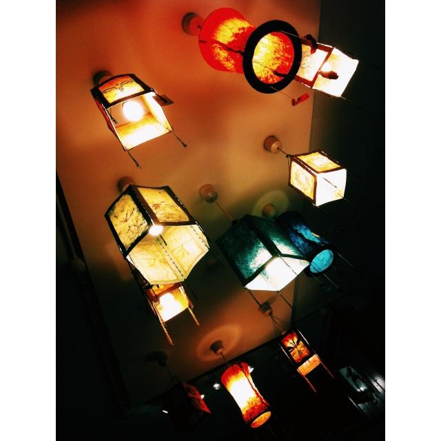 Old Shop Lanterns