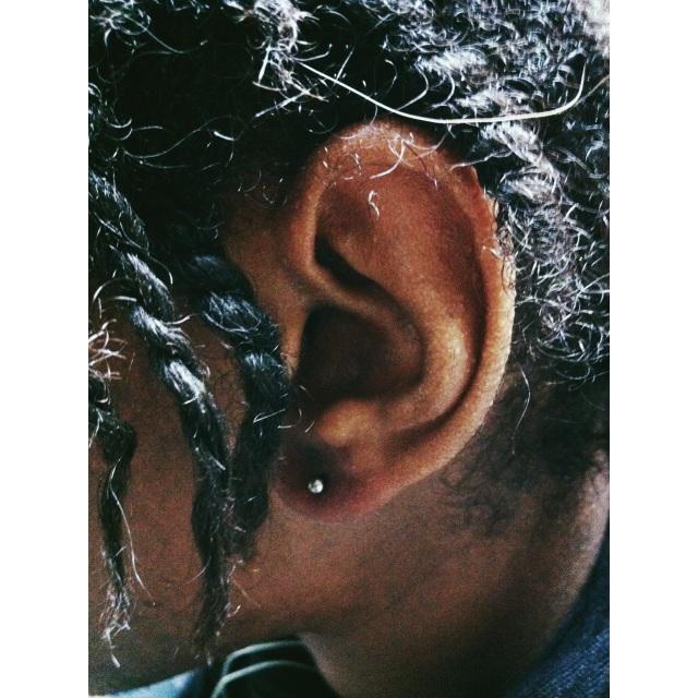 Left Side Lobe Piercing