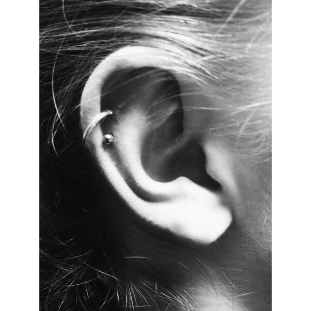 Top/Mid Ear Cartilage Piercing