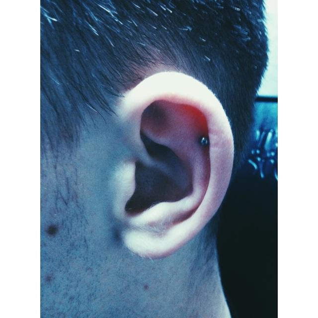 Ear Cartilage Piercing