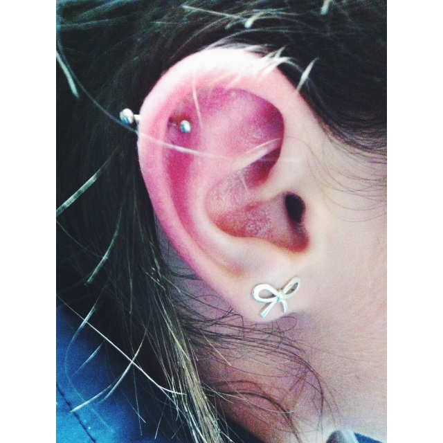 Steviie's Cartilage Piercing