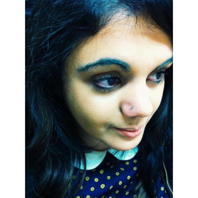 Danielle's Nose Piercing