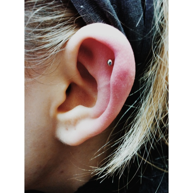 Top Ear Cartilage Piercing II