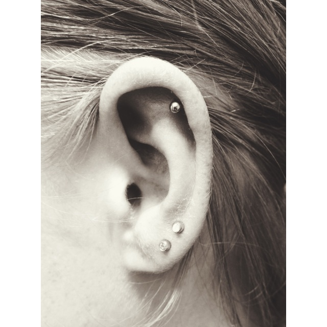 Top Ear & Lobe Piercings