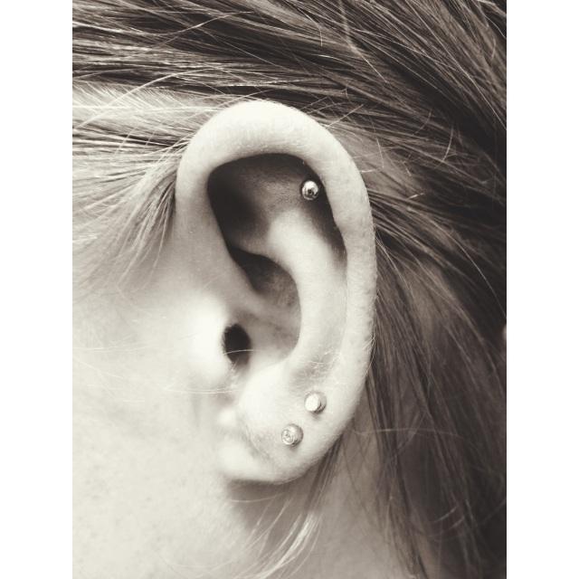Top Ear & Lobe Piercings
