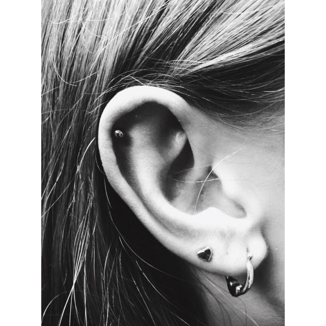 Olivia's Top Ear Piercing