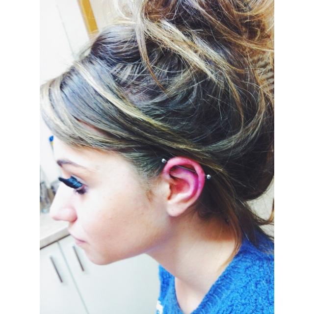 Marie's Scaffold Piercing I