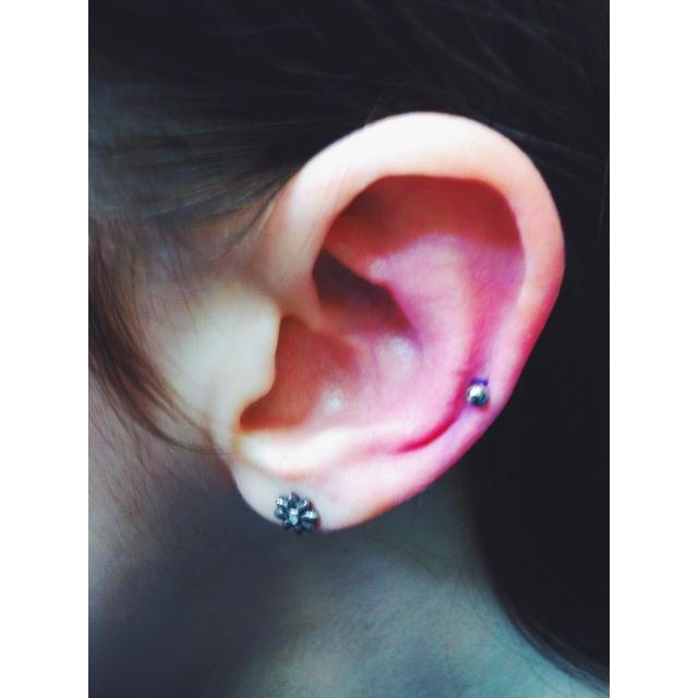 Lower Ear Cartilage Piercing