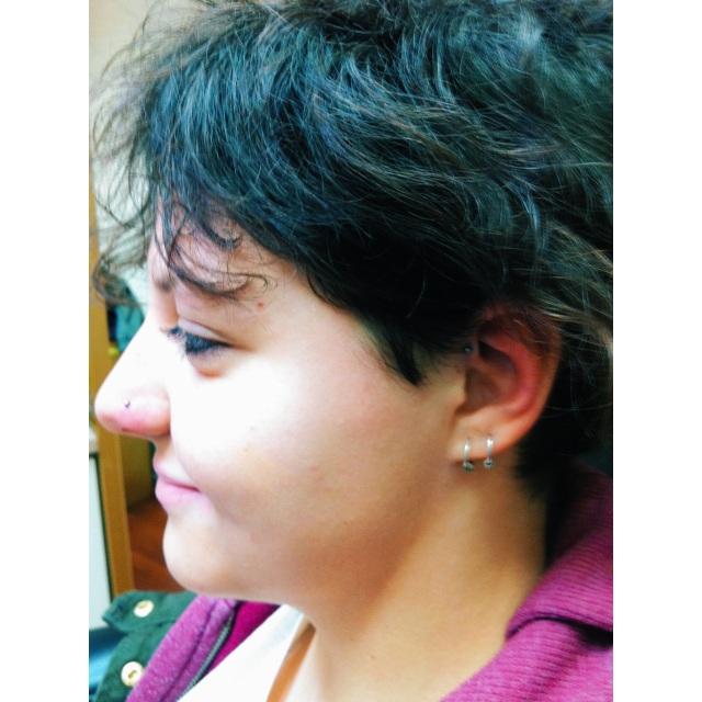 Nose & Inner Pinner ⚡⚡ Double Piercings