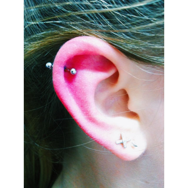 Top Ear Cartilage Piercing