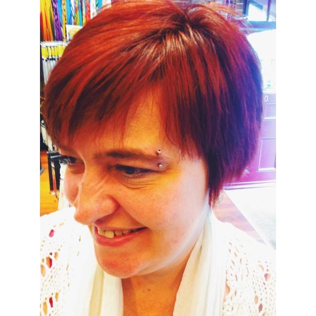 Sue's Eyebrow Piercing