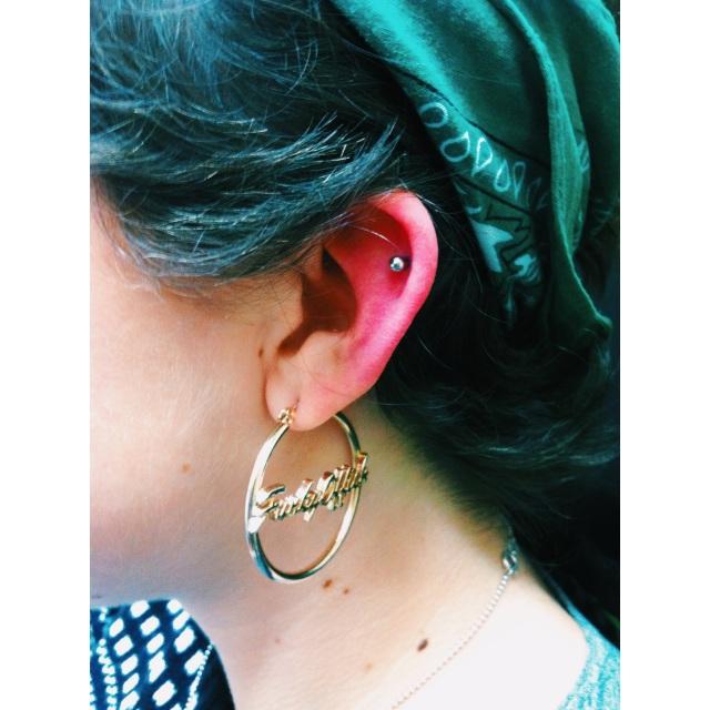 Top Ear Cartilage
