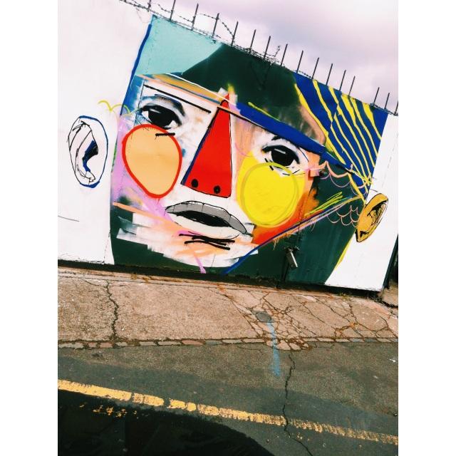 G-Town, G-Face Street Art