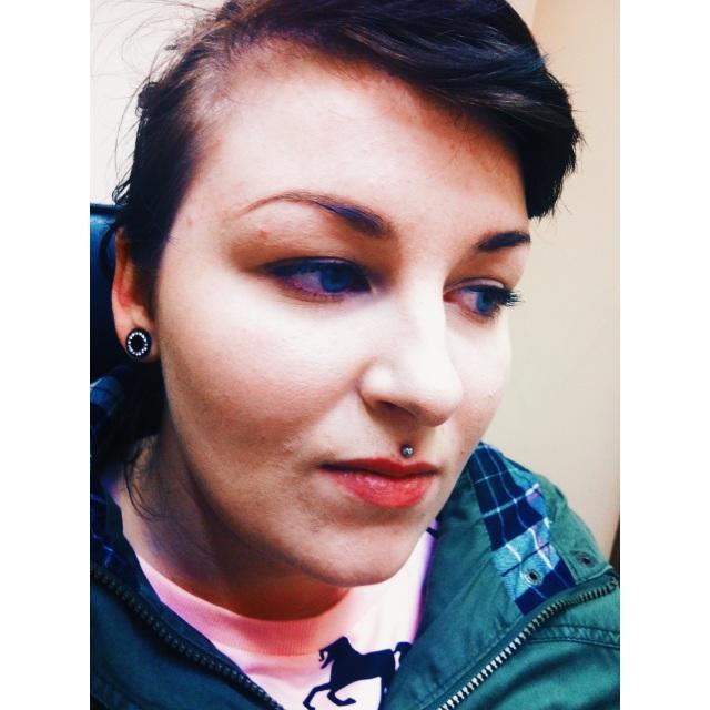 Sam's Medusa Piercing