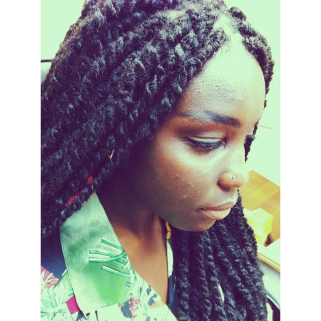 Ayiba's Nose Piercing