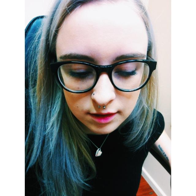 Martha's Septum Piercing