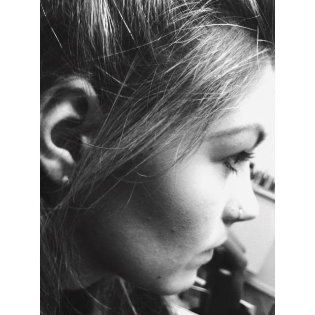 Zoe's Nose Piercing