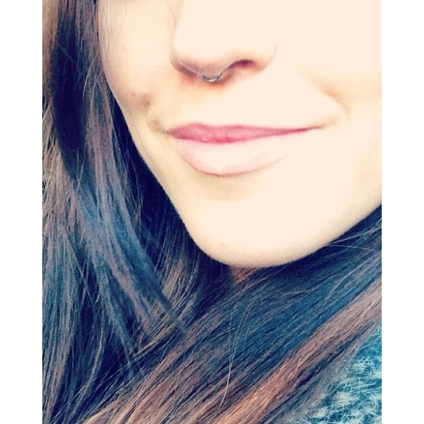 Septum Jewellery switched w/0.8mm x 6mm Steel Seamless Ring.