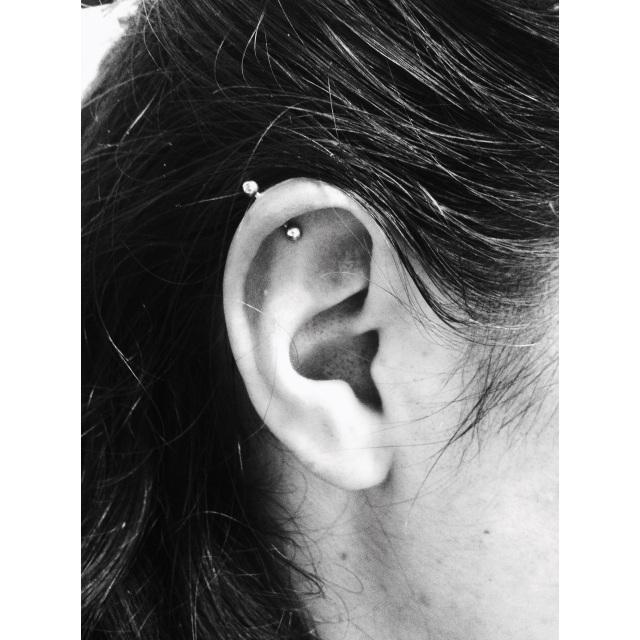 Lauren's Top Ear/Rim Cartilage Piercing