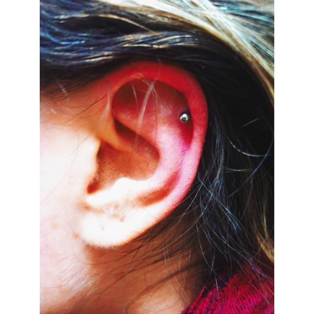 Christiana's Top Ear Piercing
