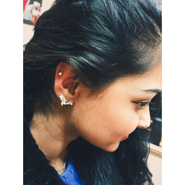 Zarina's Helix Piercing I