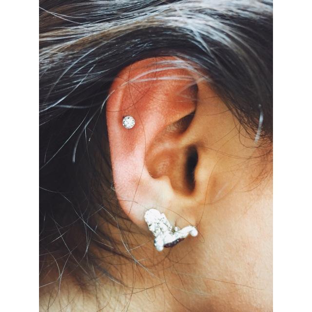 Zarina's Helix Piercing II