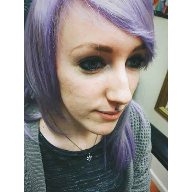 Emily's Medusa Piercing