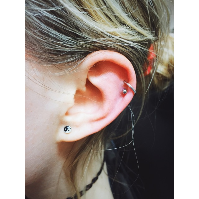 Rosie's Double Helix Piercings