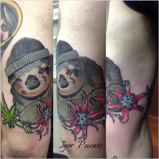Archie's Weed Sloth by Igor Puente