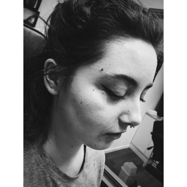 Athena's Septum Pierced