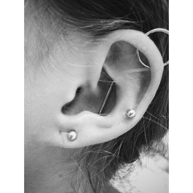 Martha's Vertical-Industrial-Scaffold Piercing II