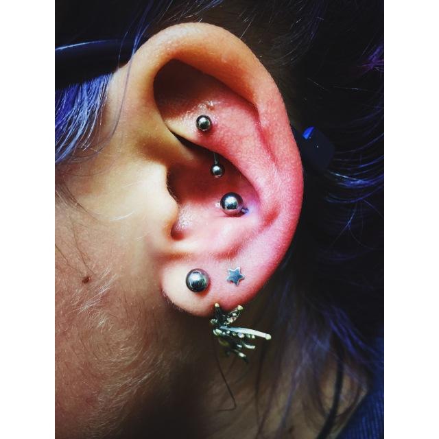 Alicja's Ear Work by El Capitan II