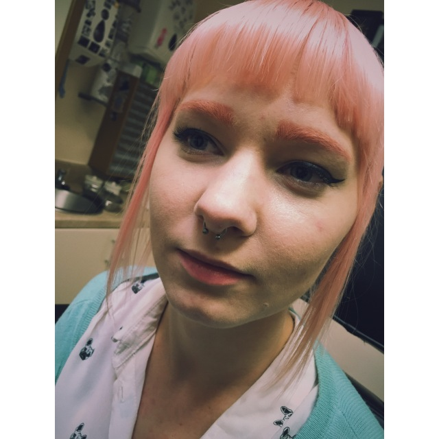 Aleksa's Septum Piercing